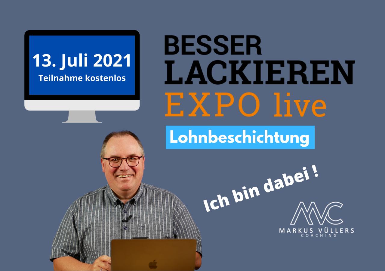 BESSER LACKIEREN<br>EXPO live